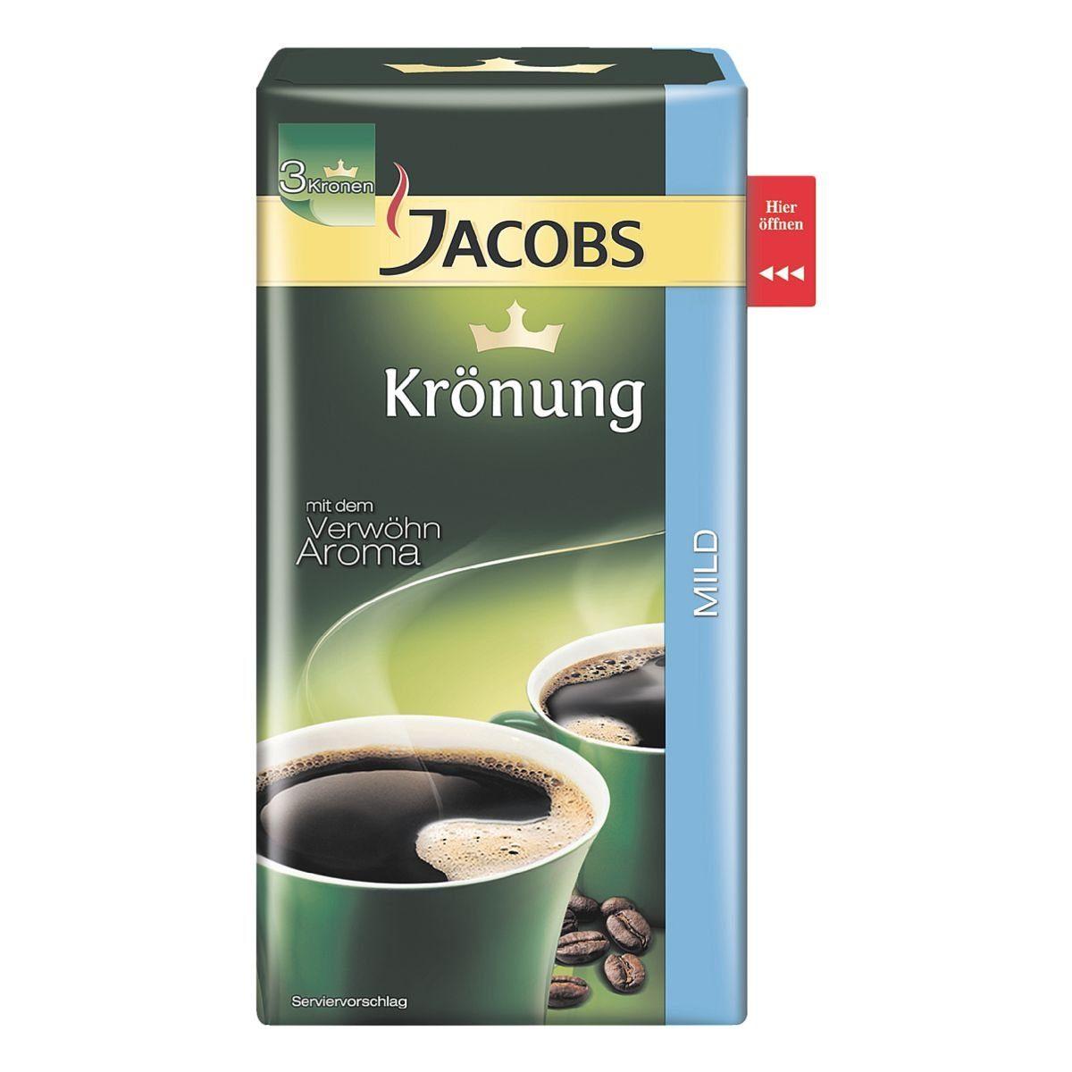 Jacobs Kaffee - gemahlen »Krönung Mild«