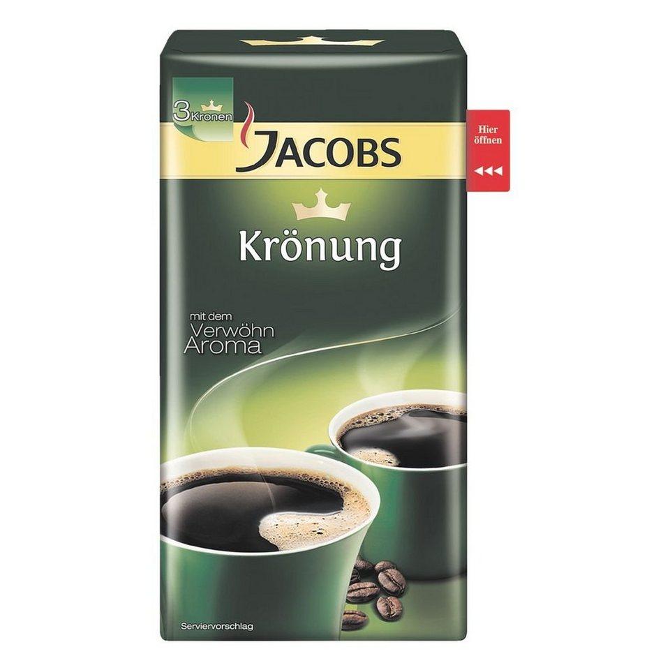 Jacobs Kaffee - gemahlen »Krönung«