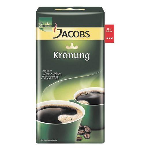 JACOBS Kaffee - gemahlen 500 g »Krönung klassisch«