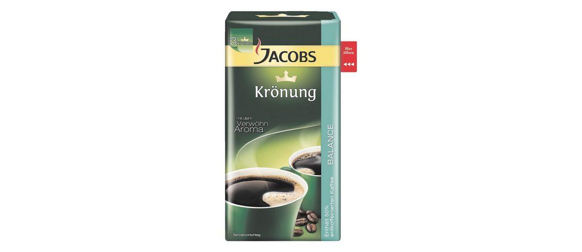 Jacobs Kaffee - gemahlen »Krönung Balance«