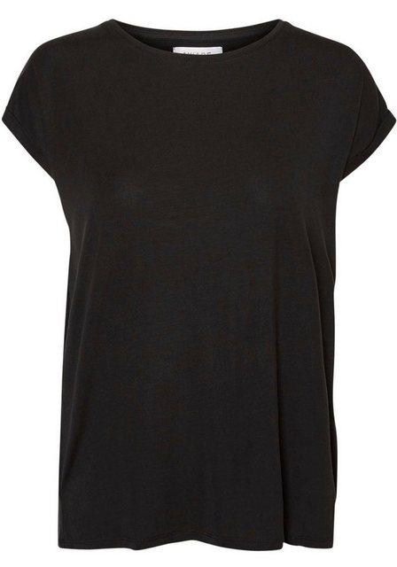 Vero Moda Rundhalsshirt »VMAVA PLAIN« | Bekleidung > Shirts > Rundhalsshirts | Vero Moda