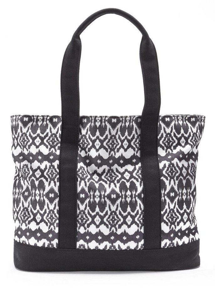 LASCANA Strandtasche, ´´Grace´´ | Taschen > Handtaschen > Strandtaschen | Schwarz | LASCANA