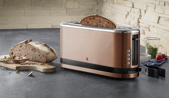 WMF Toaster KÜCHENminis® Kupfer, 1 langer Schlitz, für 2 Scheiben, 900 W