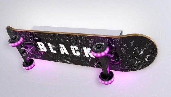 EVOTEC LED Wandleuchte »EASY CRUISER BLACK«