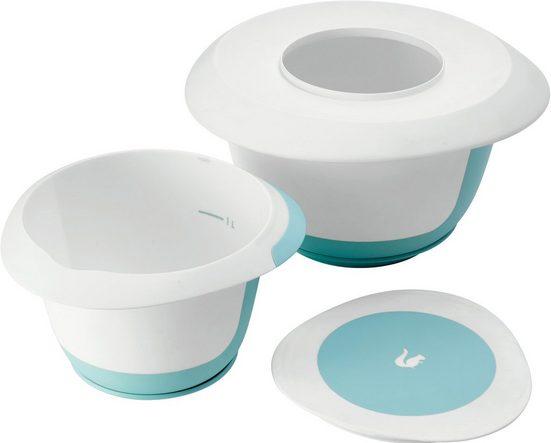 keeeper Rührschüssel »marla«, Kunststoff, (Set, 4-tlg), spülmaschinengeeignet