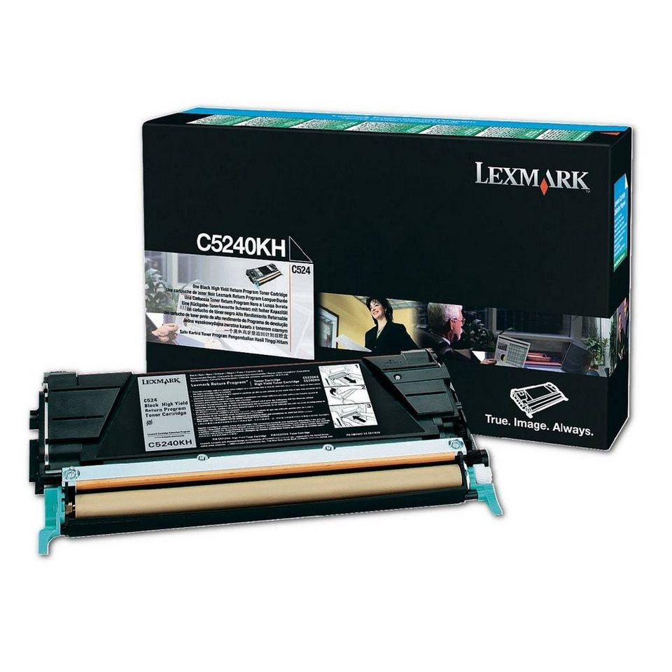 Lexmark Rückgabe-Tonerkassette »C5240CH«