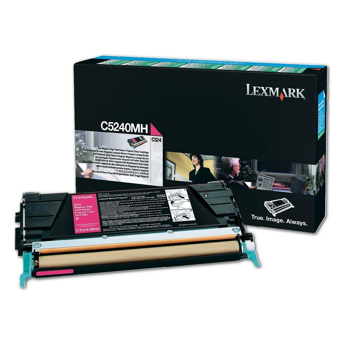 Lexmark Rückgabe-Tonerkassette »C5240MH«