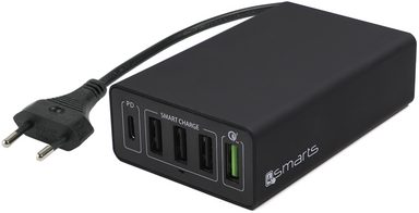 4smarts Lader »Netzladestation VoltPlug Power Delivery & QC3.0«