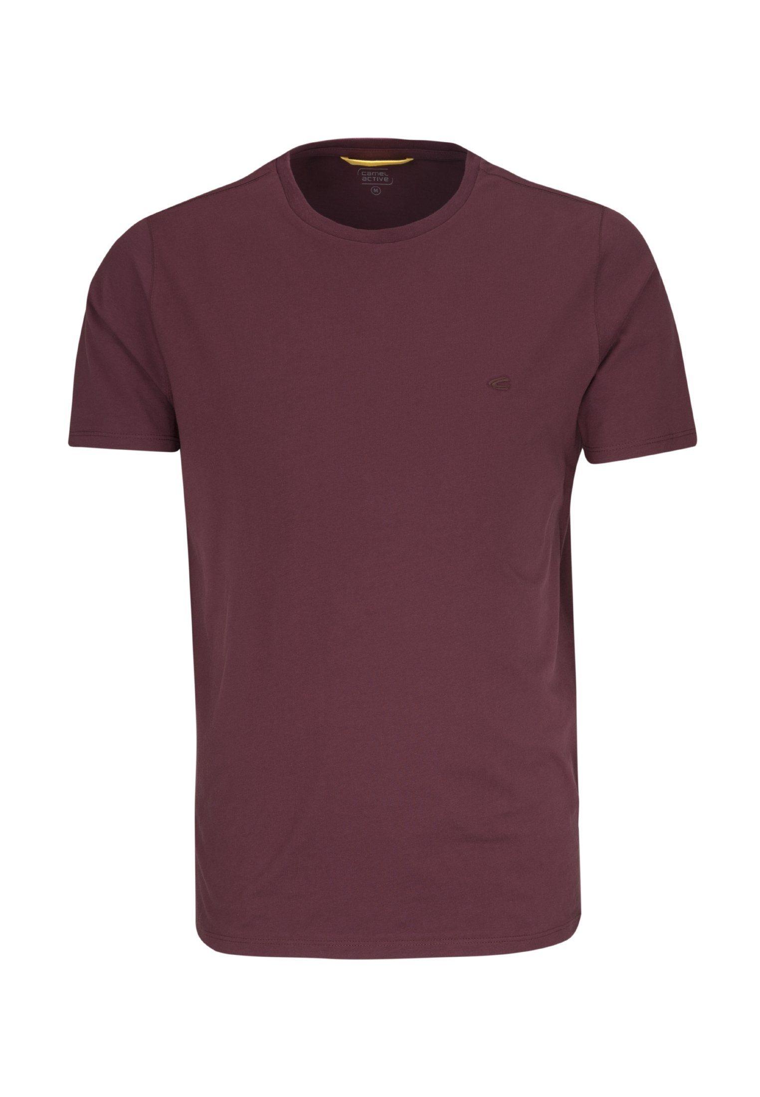 camel active T Shirt »camel active« Kurzarm Rundhals Uni online kaufen | OTTO
