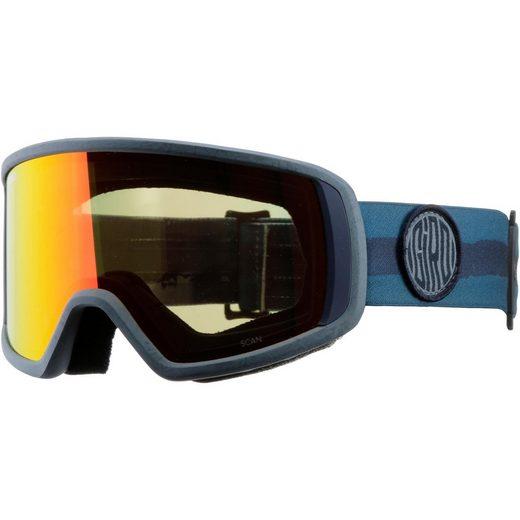 Giro Skibrille »Scan;amber scarlet«