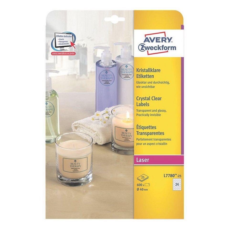 Avery Zweckform 600er-Pack Folien-Etiketten »L7780-25«