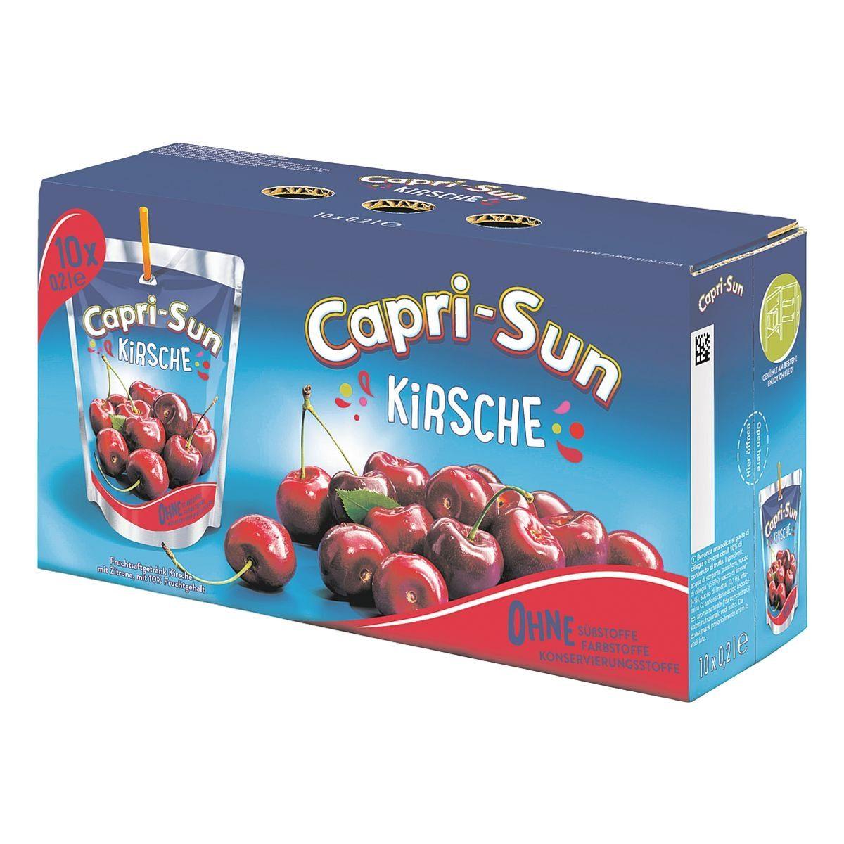 CAPRI-SUN Fruchtsaftgetränk »Capri-Sun Kirsch«