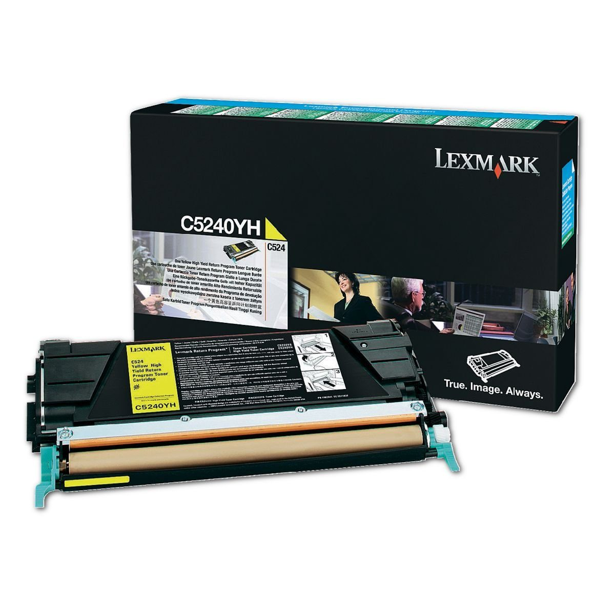 Lexmark Rückgabe-Tonerkassette »C5240YH«