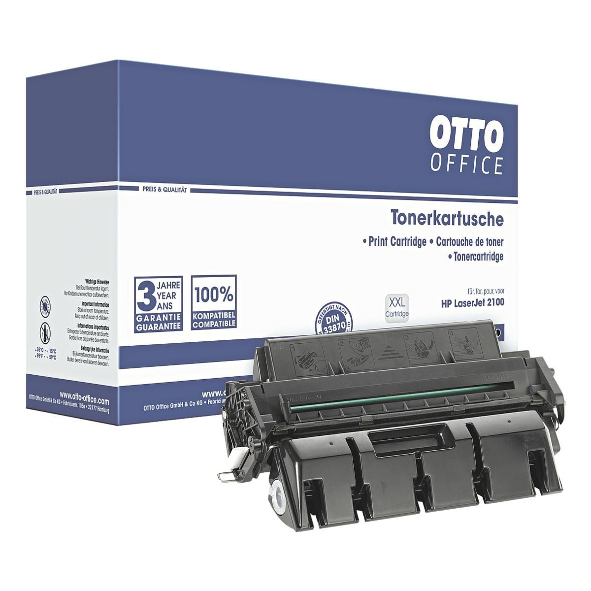 OTTO Office Standard Druckkassette ersetzt HP »C4096XX« Nr. 96XXL