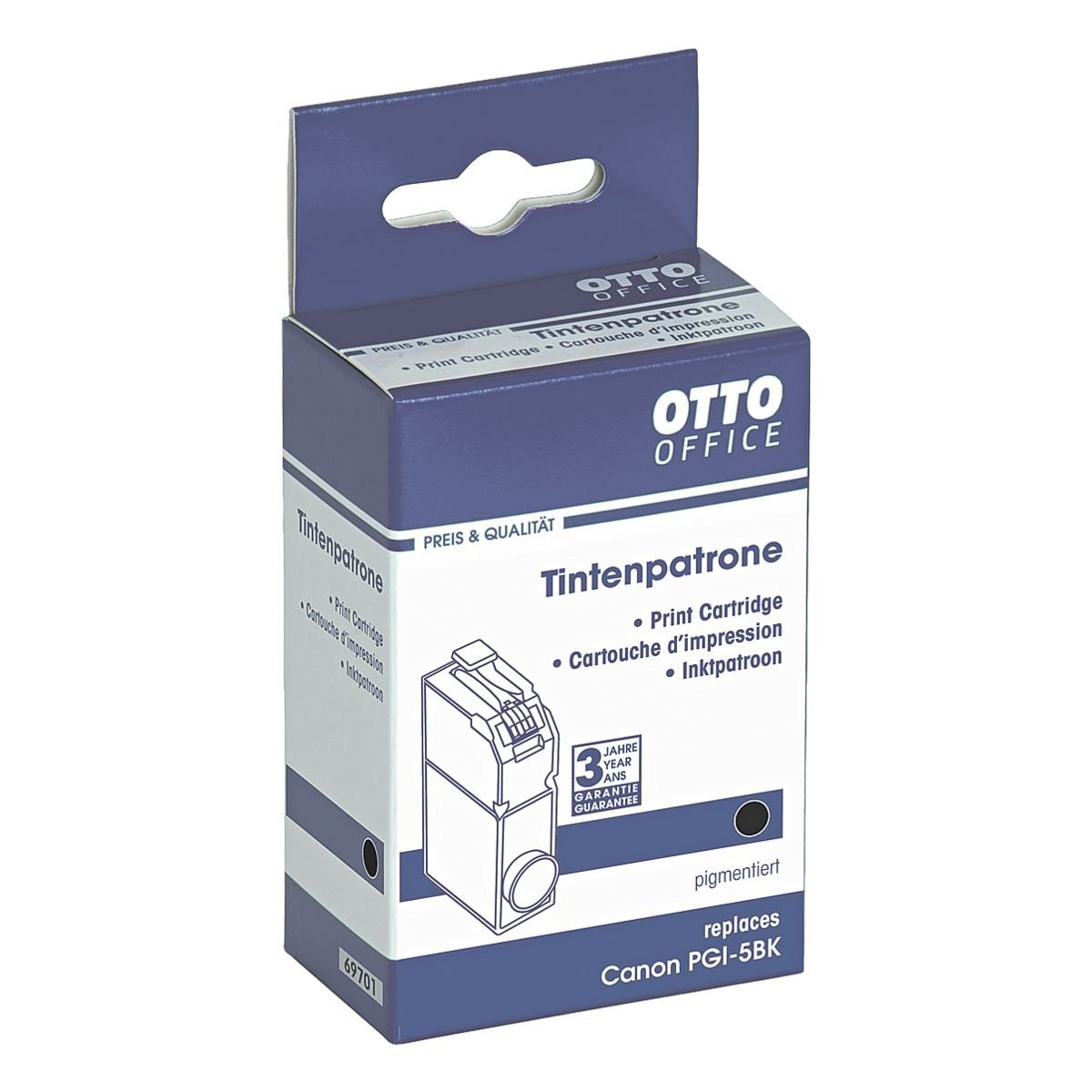 OTTO Office Tintenpatrone ersetzt Canon »PGI-5BK«