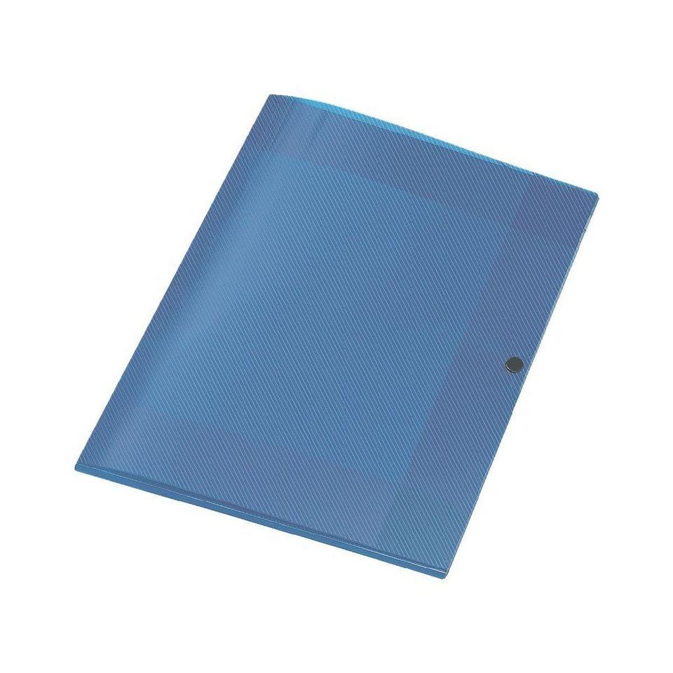 Veloflex Sammelbox »Crystal« in transparent blau