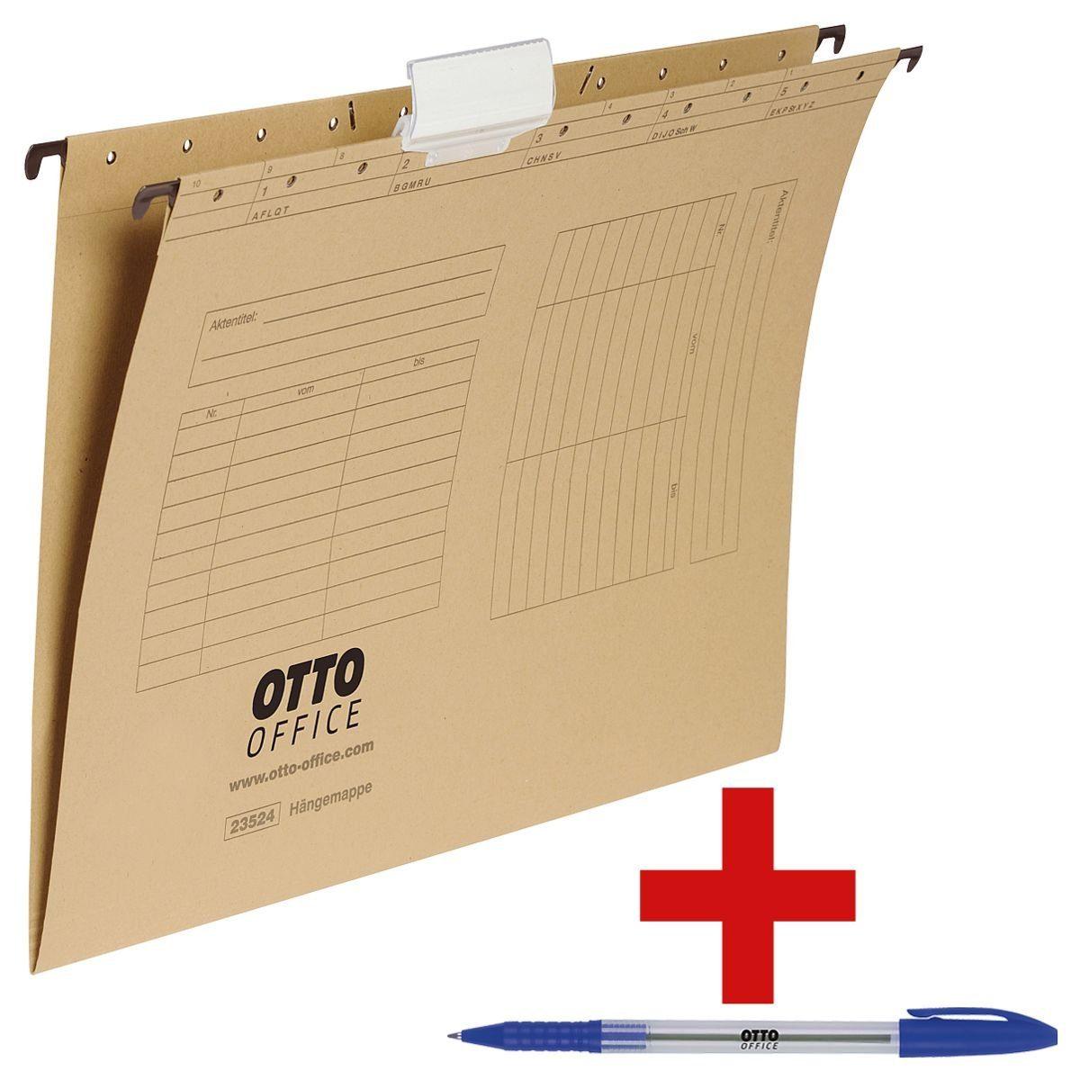 OTTOOFFICE STANDARD Hängemappen inkl. Einwegkugelschreiber »Eco Stick« 1 Set