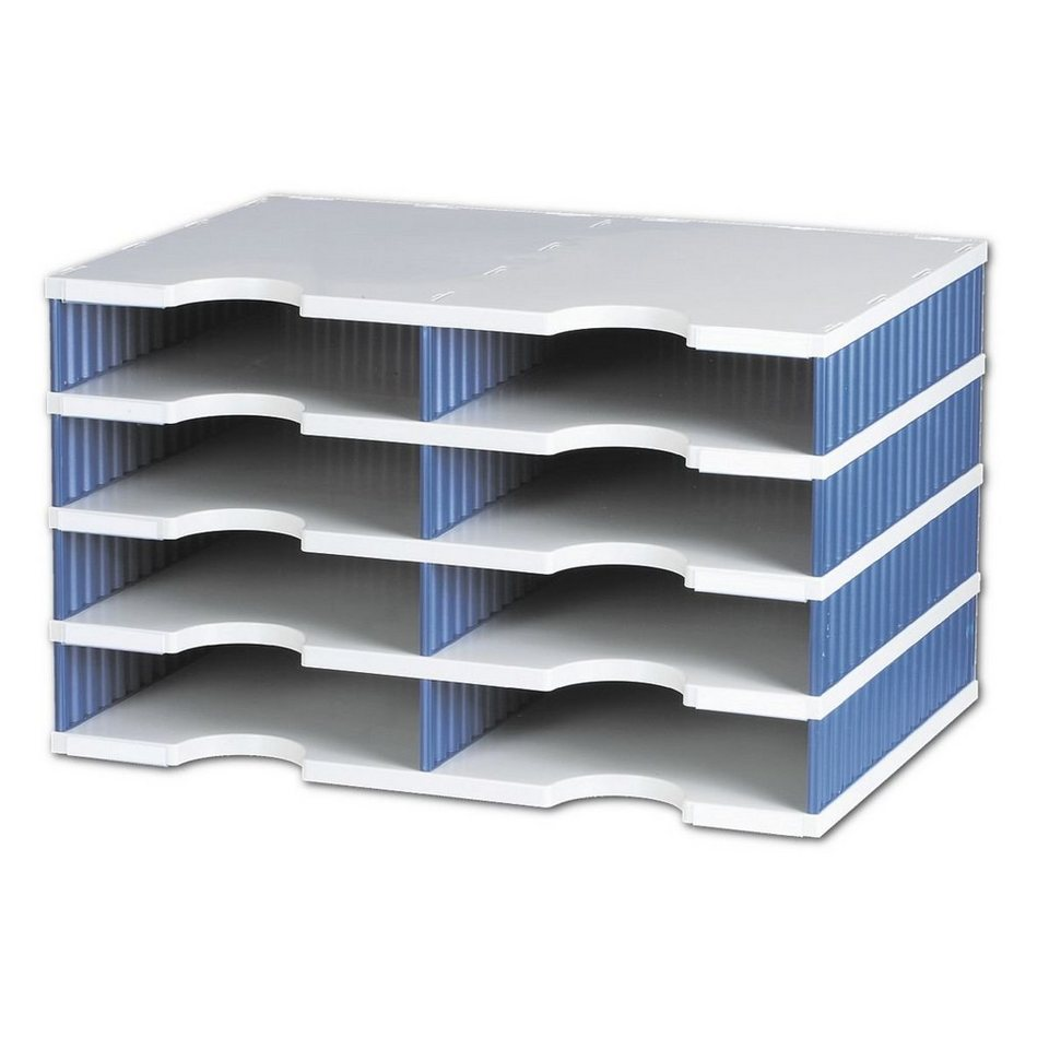 Styro Sortierstation »Styrodoc« in blau