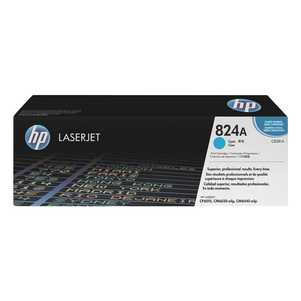 HP Druckkassette 824A »HP CB381A«