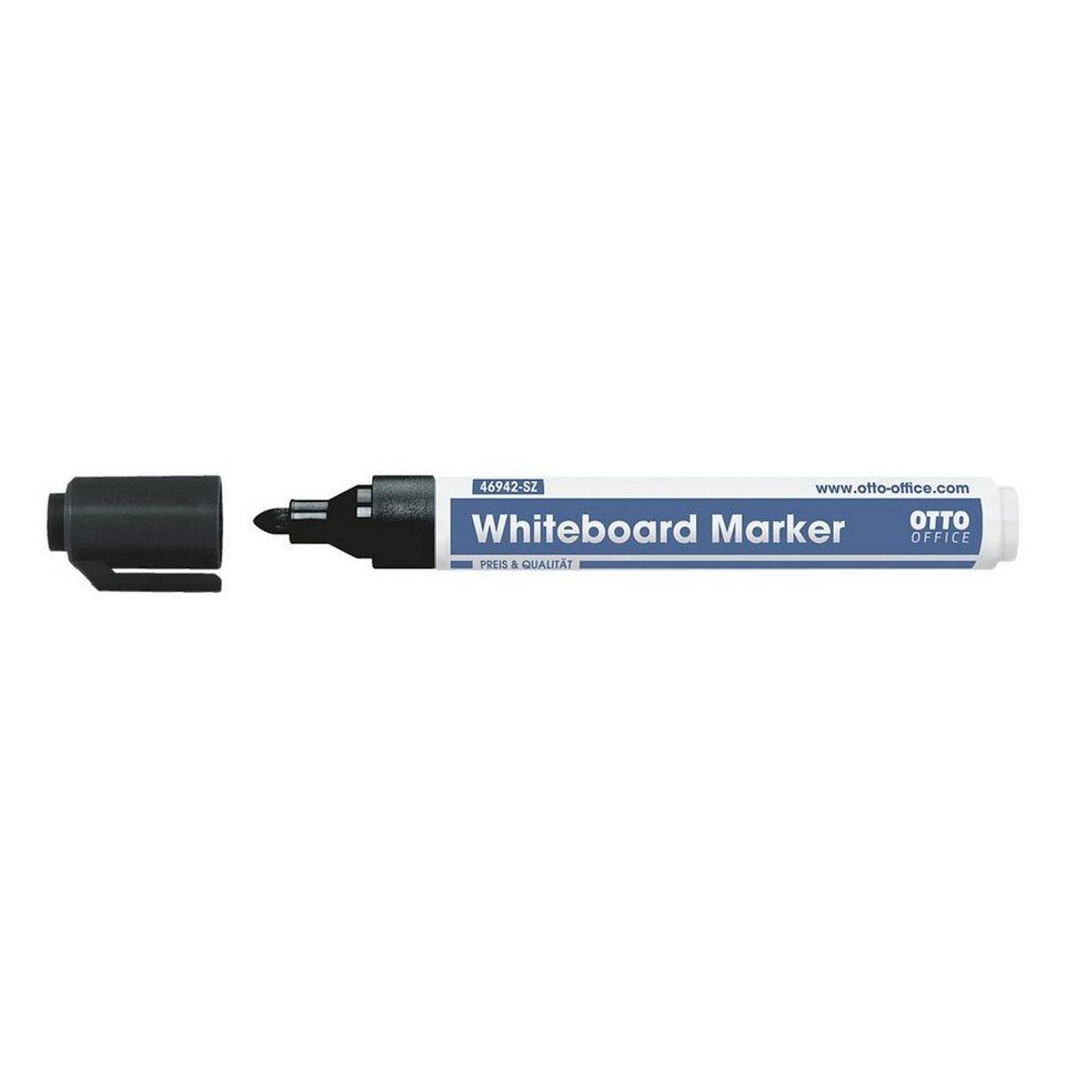 OTTO Office Standard Whiteboard-Marker in schwarz
