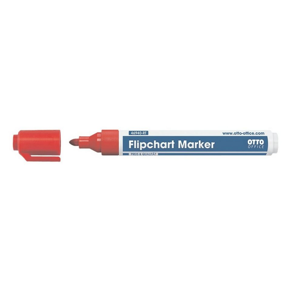 OTTO Office Standard Flipchart Marker in rot