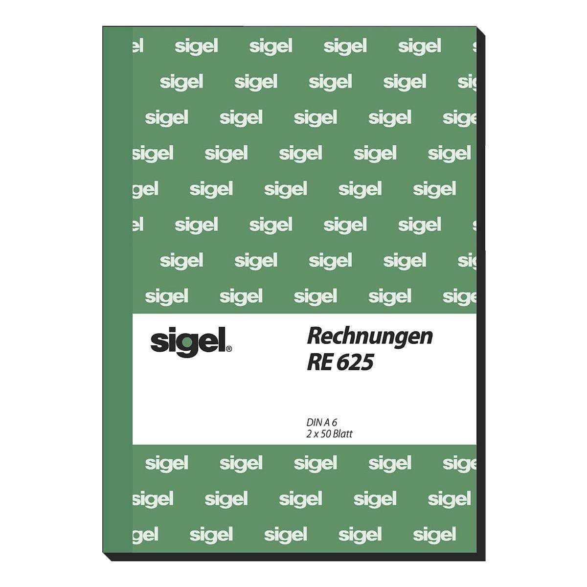 Sigel Formularbuch RE625 »Rechnung«