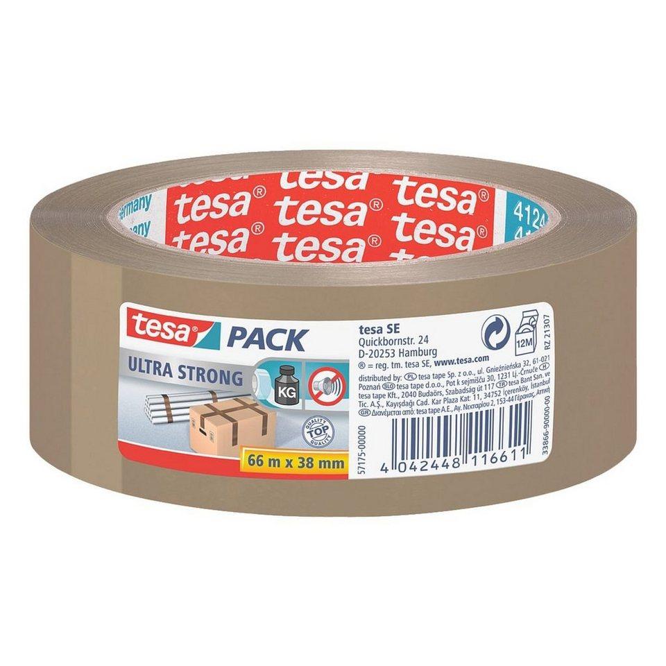 tesa Packband »4124« in braun