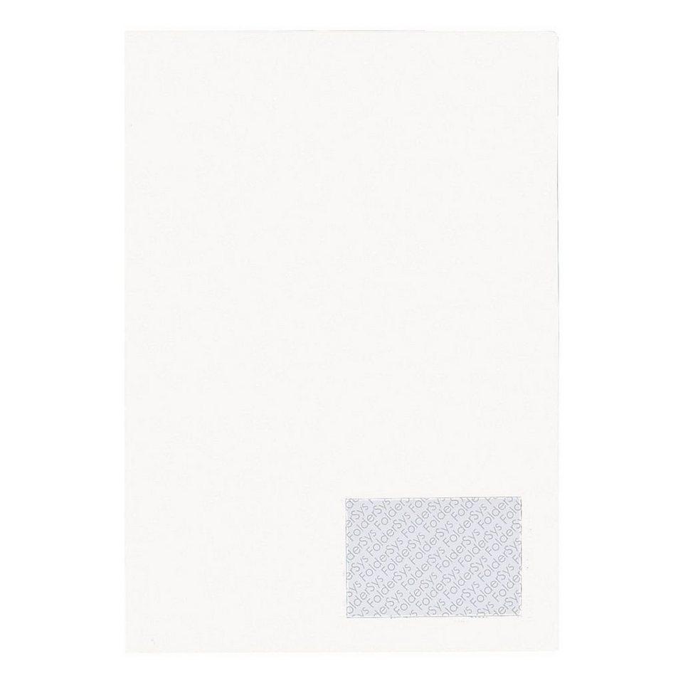 Foldersys Angebotsmappe »Twin« in weiß