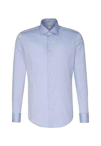 Britt Blau Kent Businesshemd Langarm Fit kragen Fit« »custom Uni Custom Jacques hrxoQsBdtC