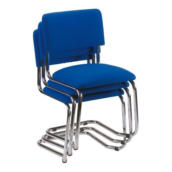 Nowy Styl 3er-Set Besucherstühle »Sylwia« in blau