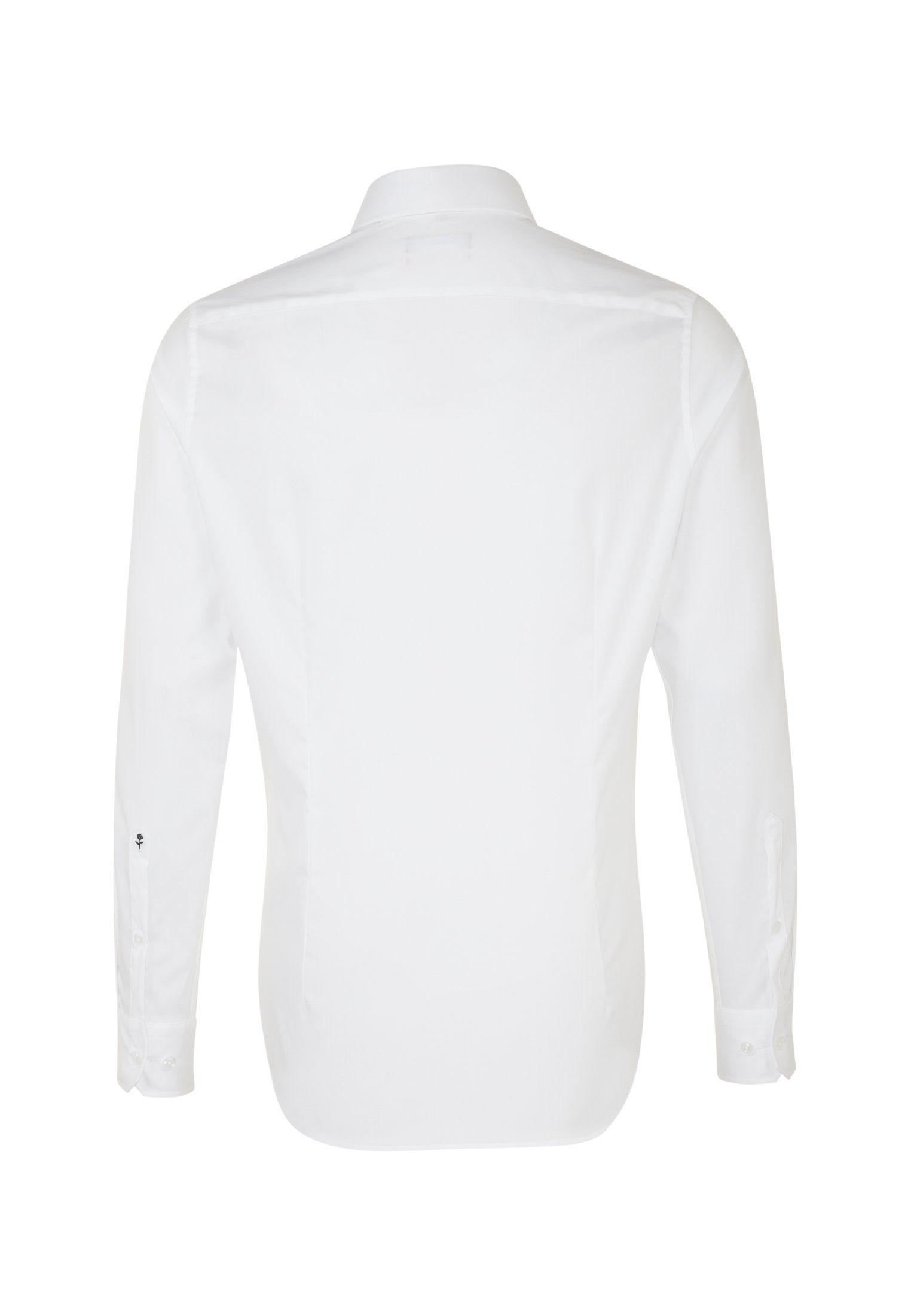 Businesshemd Kaufen Seidensticker »slim« Langarm Online Uni Slim Kentkragen PXuikOZ