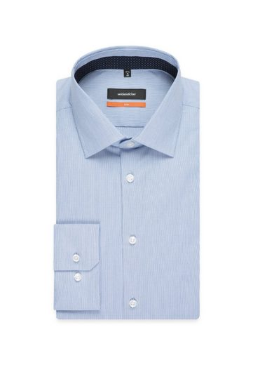 seidensticker Businesshemd  Slim  Slim Langarm Kentkragen Streifen