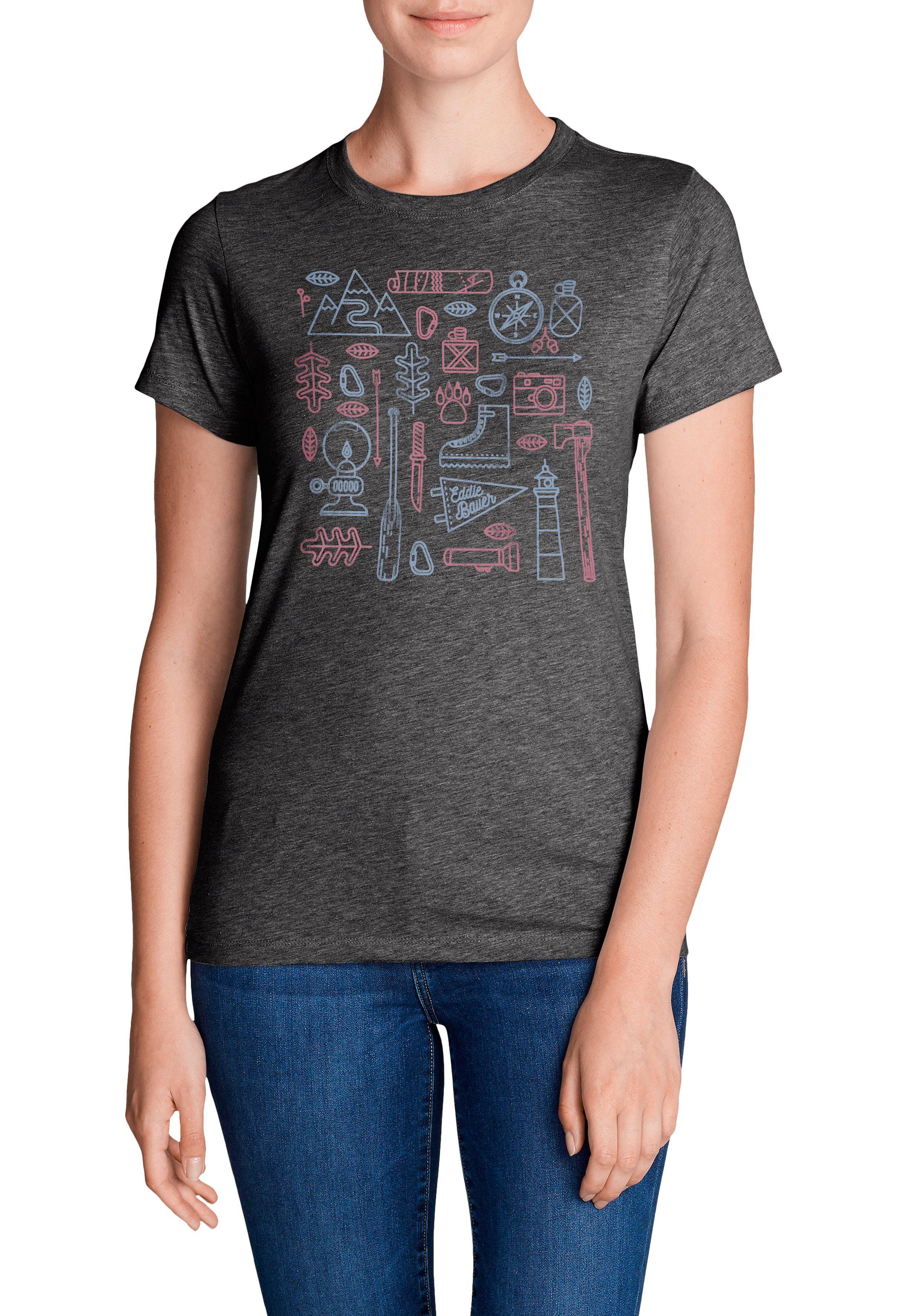 Eddie Bauer T-Shirt T-Shirt - Camping Emoji