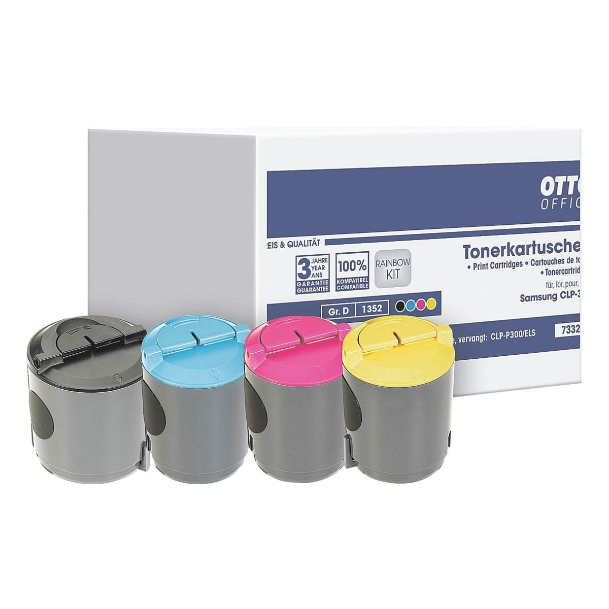 OTTO Office Standard Tonerpatronen-Set ersetzt Samsung »CLP-300C«