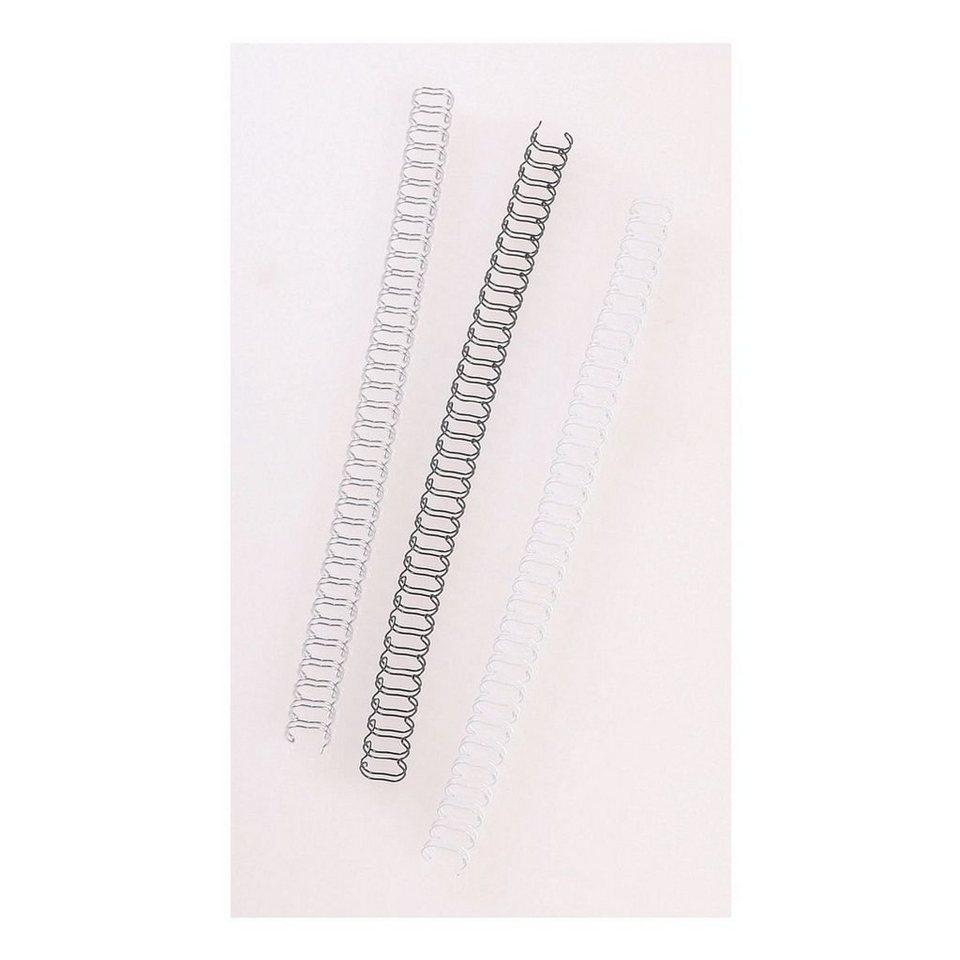 OTTO Office Standard Drahtbinderücken in silber