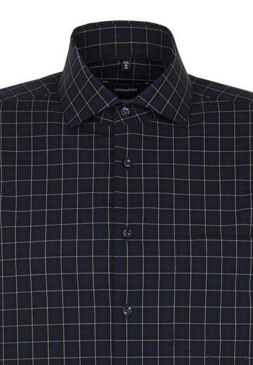 Langarm Businesshemd Seidensticker Kentkragen Modern Karo »modern« pvwqZ