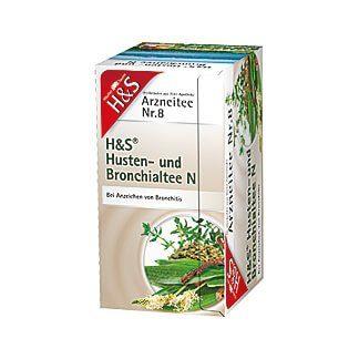 H&S Husten- und Bronchialtee N, 20X2.0 g