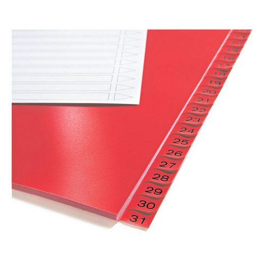 OTTOOFFICE STANDARD Kunststoffregister 1-31 A4 einfarbige Taben