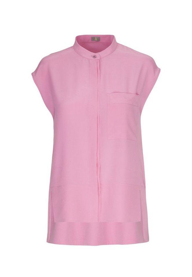Jacques Britt Klassische Bluse »Jacques Britt« Ohne Arm Kragen Uni   Bekleidung > Blusen > Klassische Blusen   Rosa   Jacques Britt