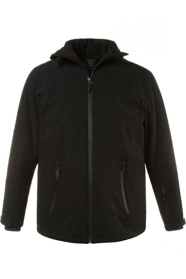 Herren JP1880 Skijacke bis 7 XL Skijacke Funktionsbekleidung wasserdicht winddicht atmungsaktiv schwarz | 04056088750364