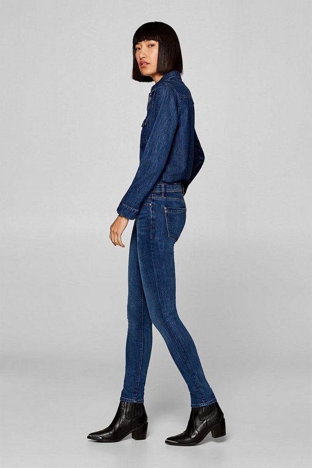 edc by Esprit Stretch-Jeans in kombistarkem Basic-Look