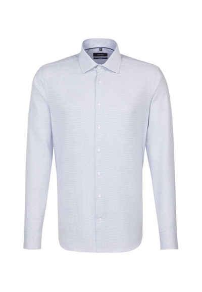 b11b7977a93ad7 seidensticker Businesshemd »Tailored« Tailored Langarm Kent-Kragen Uni
