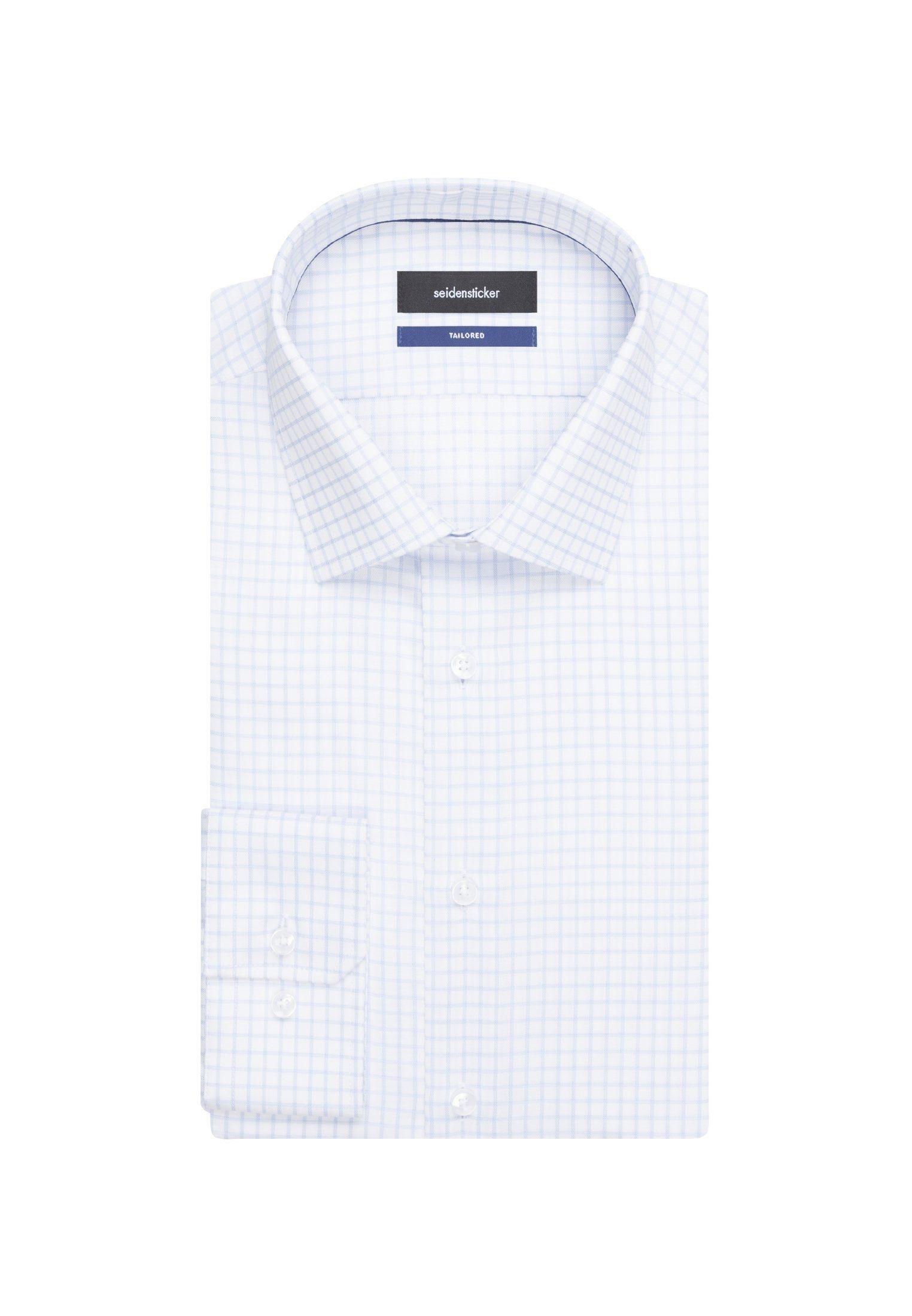 Online Seidensticker Kentkragen Businesshemd »tailored« Langarm Kaufen Tailored Karo fvyI6mYb7g
