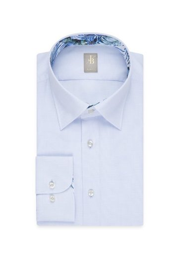 Under Businesshemd down Slim Blau Britt Jacques Fit Langarm »slim Fit« Uni kragen button 8wOn0XPk