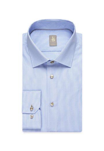 Langarm »slim Fit Britt Fit« Slim Kent Businesshemd Streifen Jacques kragen 4qYBAwA