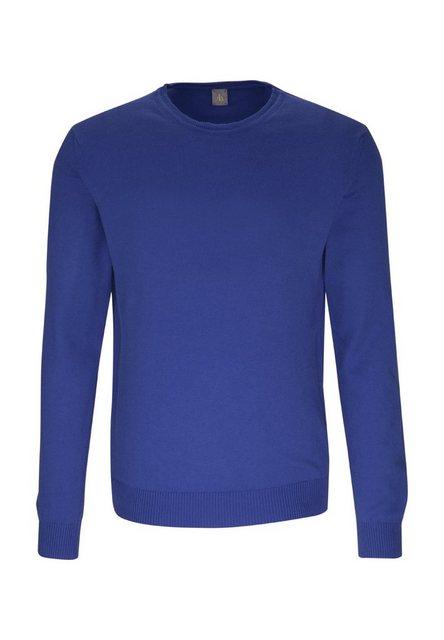 Jacques Britt Rundhalspullover »Slim Fit« Langarm Rundhals Uni | Bekleidung > Pullover > Rundhalspullover | Jacques Britt