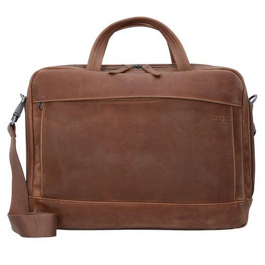 AEP Delta Classic Leather Aktentasche 39 cm