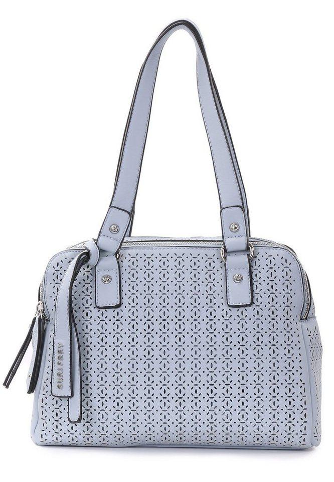SURI FREY Bowlingtasche »Anny No.1« | Taschen > Handtaschen > Bowlingtaschen | Blau | SURI FREY