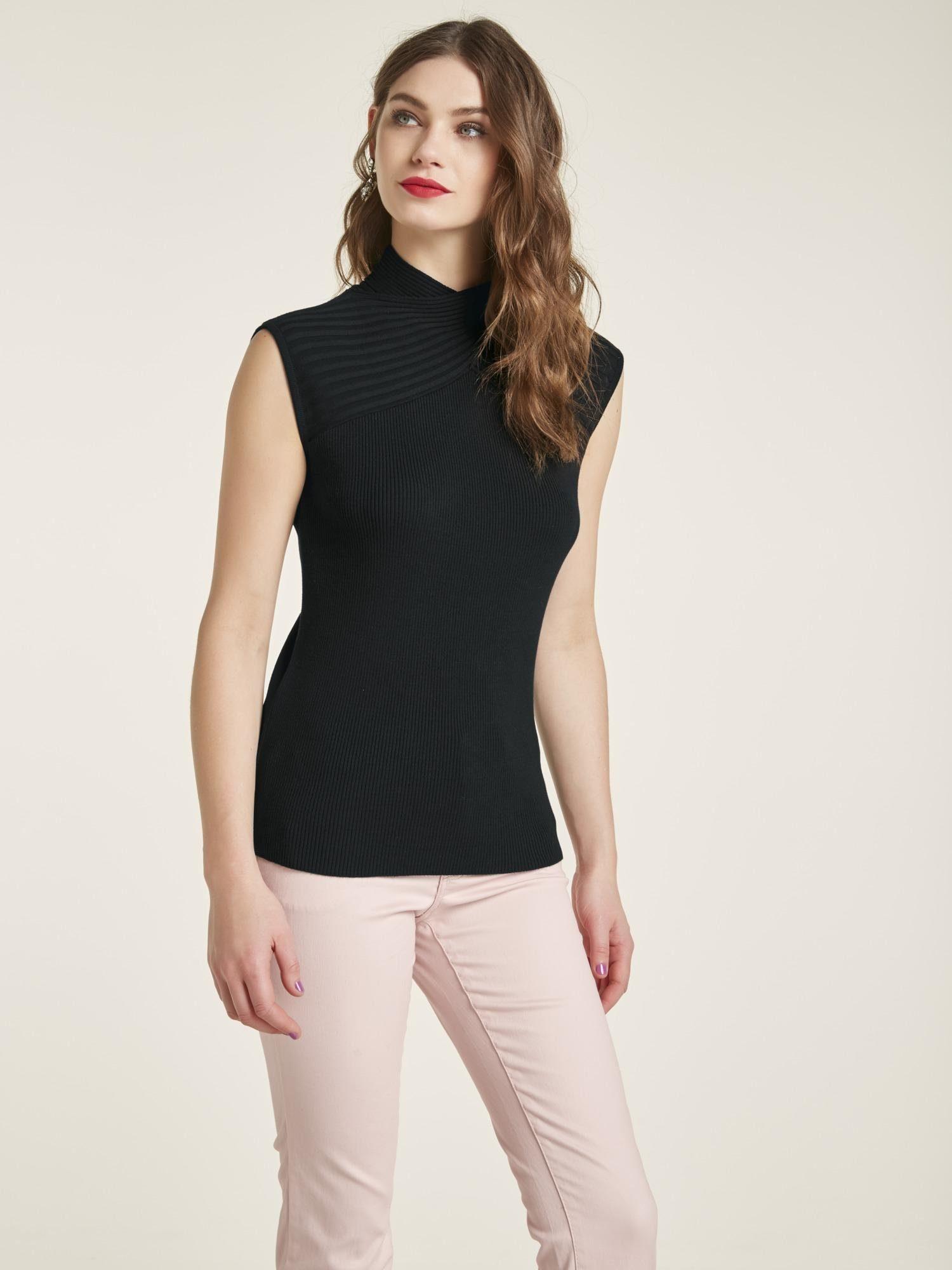 Kaufen Mit Style Kragen Pullover Heine Gekreuztem thrsxQdCB