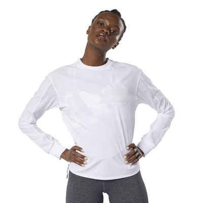 Reebok Kapuzensweatjacke »training Essentials Marble Crew Sweatshirt« White